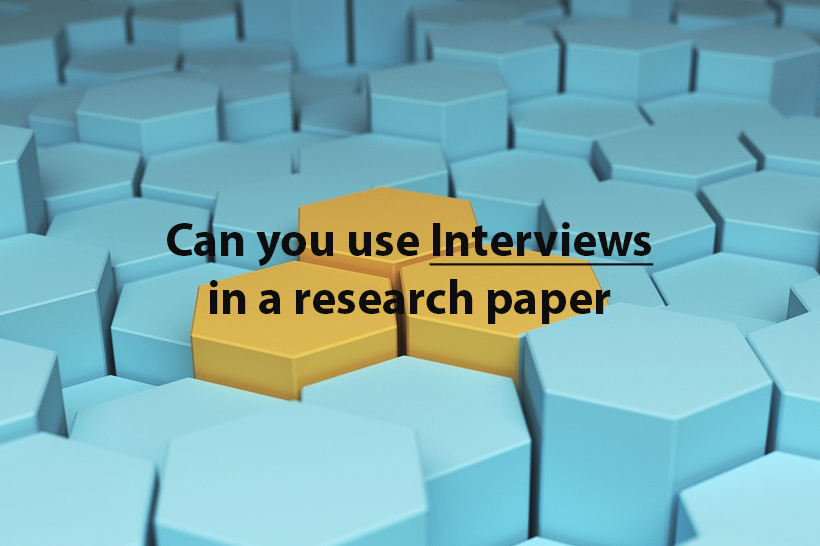 what is interview in research pdf