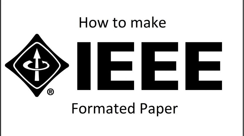 research paper for IEEE